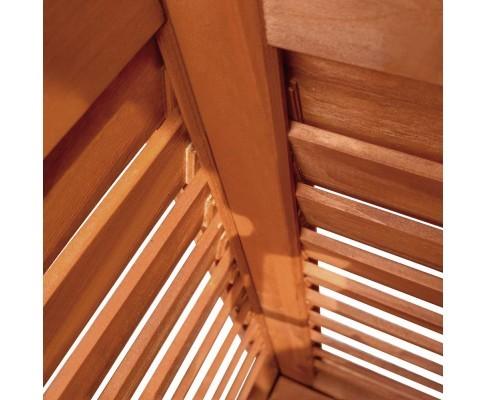 Outdoor Fir Wooden Storage Bench