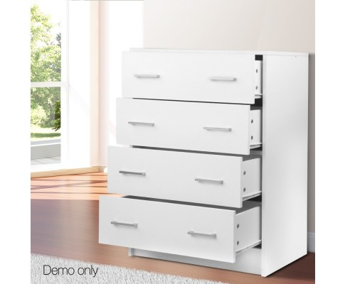 Tallboy 4 Drawers Storage Cabinet