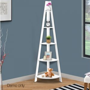 5 Tier Corner Ladder Bookshelf