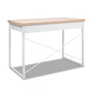 Metal Desk with Drawer