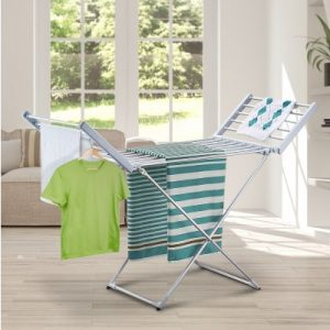 Electric Heated Clothes Rack