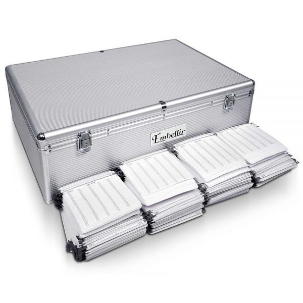 1000 Disc Aluminium Storage Box