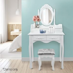 4 Drawer Dressing Table