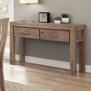 2 Drawer Hall Table