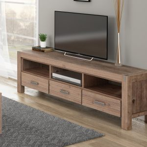 3 Drawer Large Tv Unit