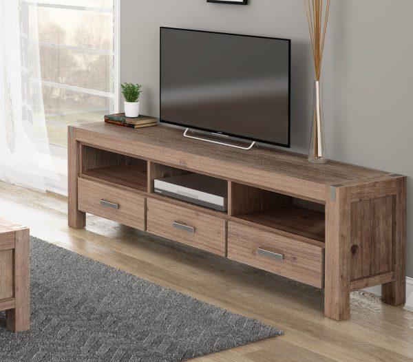 3 Drawer Large Tv Unit