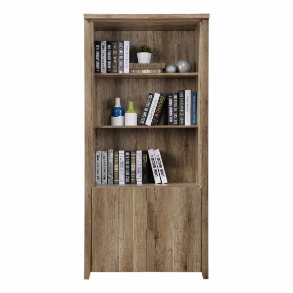 Open Shelf Bookcase