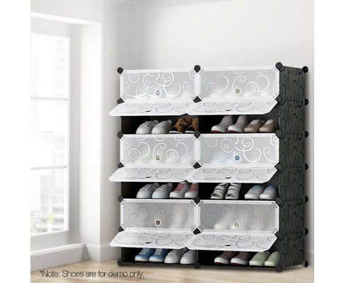 12 Cube Stackable Compartments