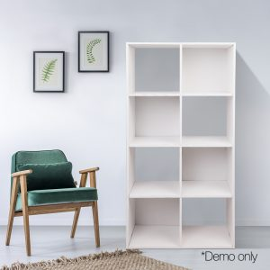 8-cube Display Storage Shelf