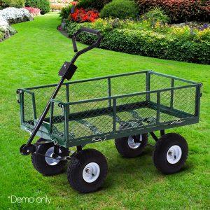 Mesh Garden Steel Cart