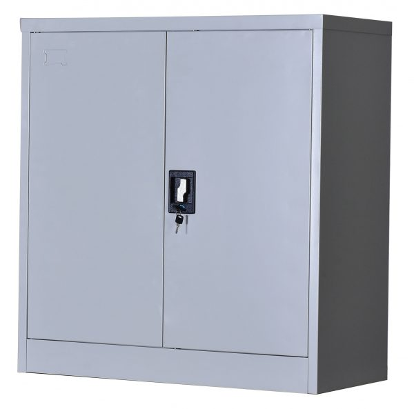 2-Door Lockable File Cabinet