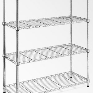 Modular Chrome Wire Storage Shelf