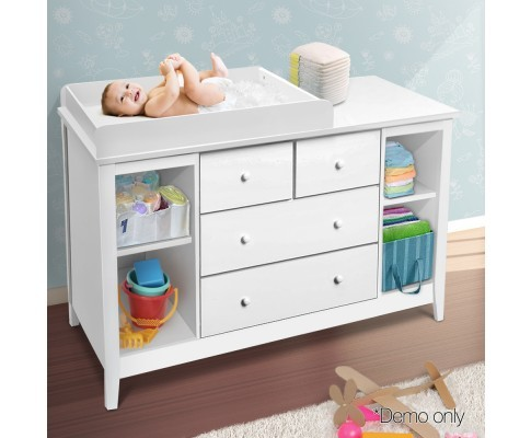 Change Table with Drawers