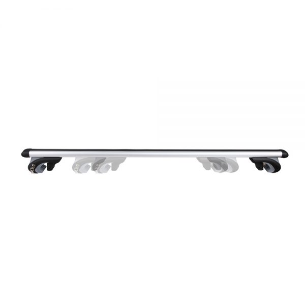 Universal Aluminium Car Roof Rack Cross Bar with Security Lock 1200mm Black