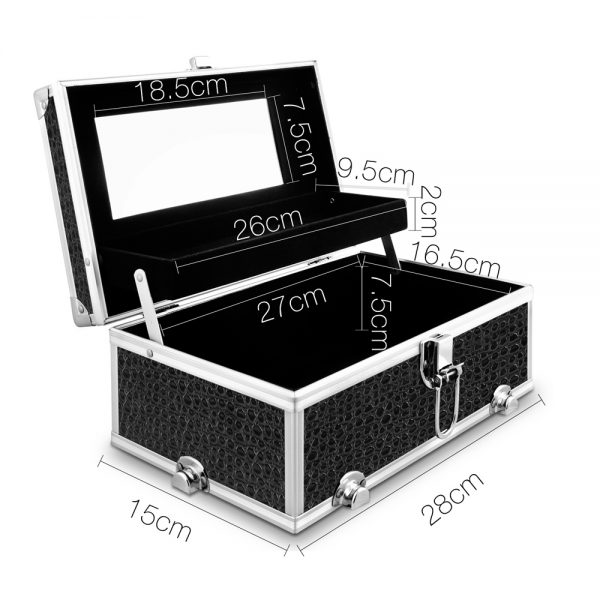 Portable Cosmetic Beauty Make Up Carry Case Box