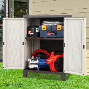 Outdoor Half-sized Storage Cabinet