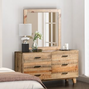 Woodstyle 6 Drawer Dresser