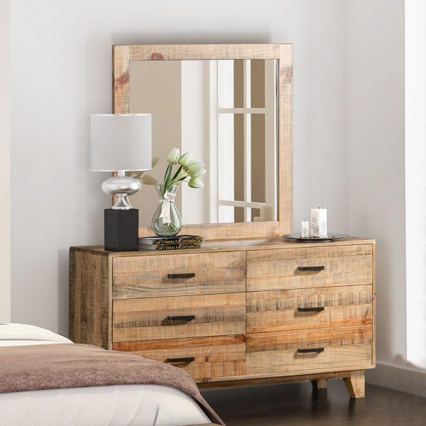 Woodstyle 6 Drawer Dresser