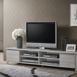 White Oak Large Television Unit
