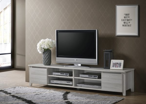 White Oak Large Television Unit