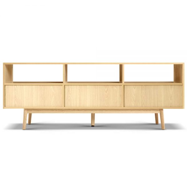 Wooden Scandinavian Entertainment Unit