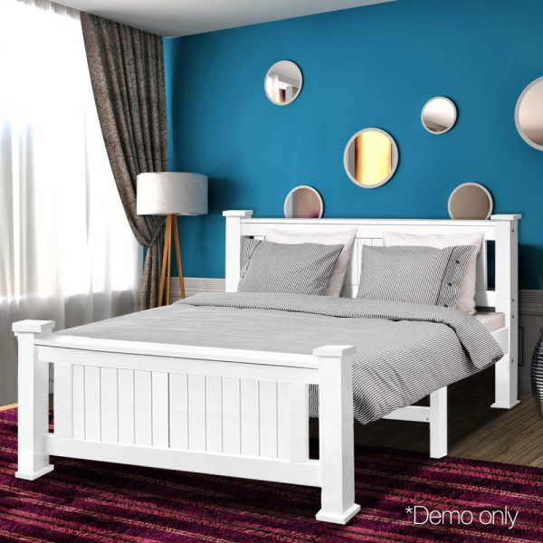 Double Size Wooden Bed Frame