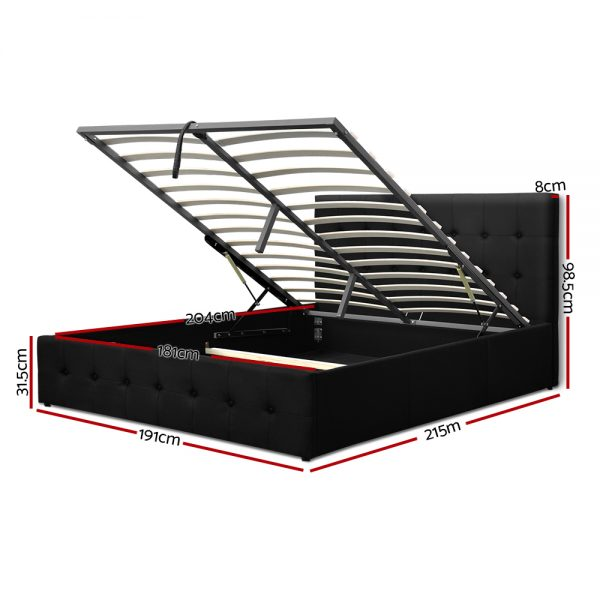 Gas Lift King Bed