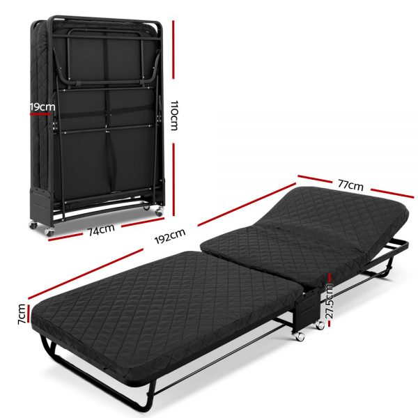 Compact Foldable Bed