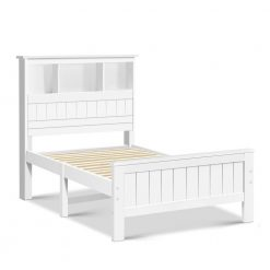 King Single Wooden Timber Bed Frame