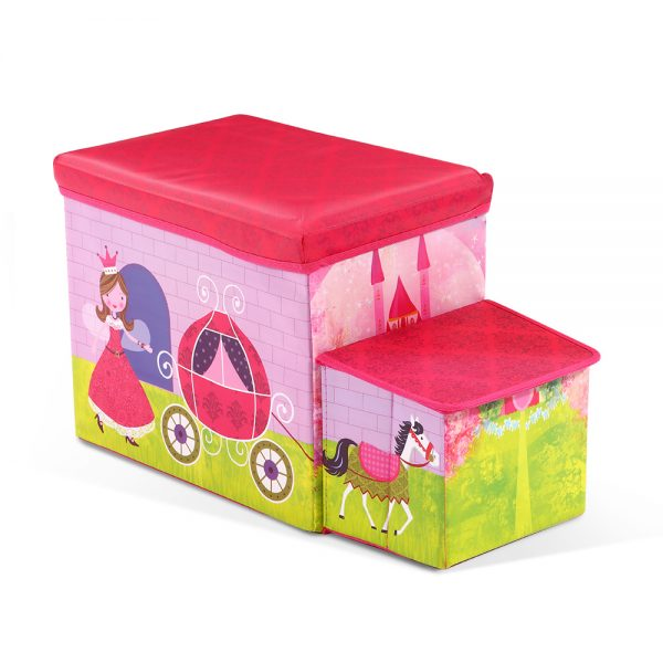 Kids Toy Storage Stool