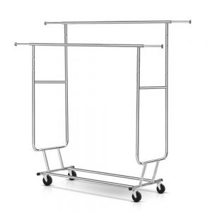 Clothes Rack Double Rail