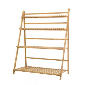 4-Tier Bamboo Plant Stand
