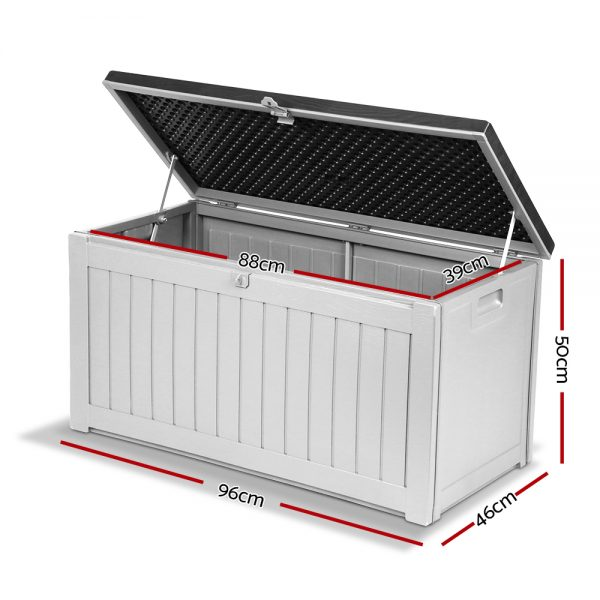 Outdoor Storage Box - Dark Grey