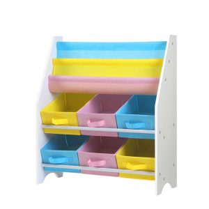 Kids Bookshelf and Toy Box