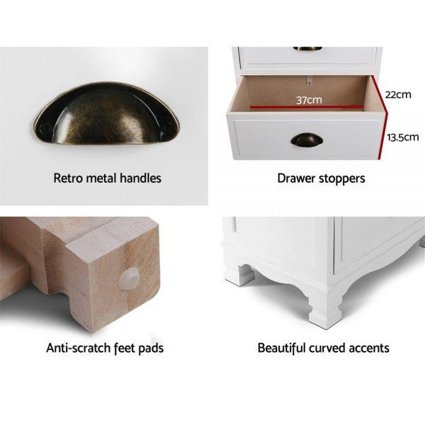 4-drawer Nightstand