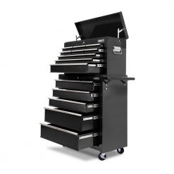 Black Heavy Duty 14 Drawer Toolbox