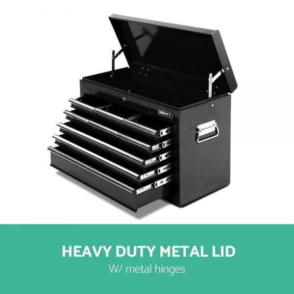 Black Heavy Duty 14 Drawer Toolbox