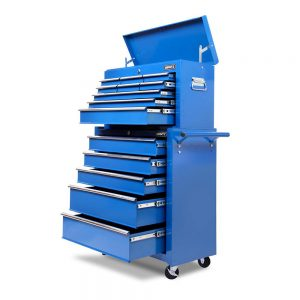 Blue Heavy Duty 14 Drawer Toolbox