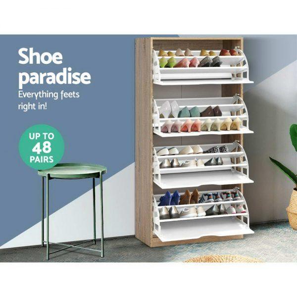 4-level Shoe Cabinet