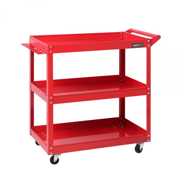 Red Tool Cart