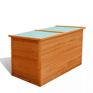 650L Wooden Garden Storage Box