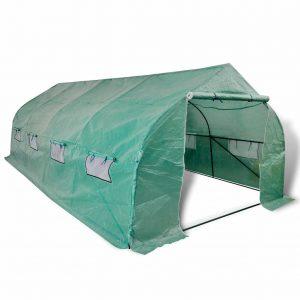 Portable Polytunnel Greenhouse Steel Frame Walk