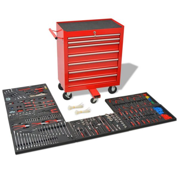 7 Drawer Workshop Tool Trolley
