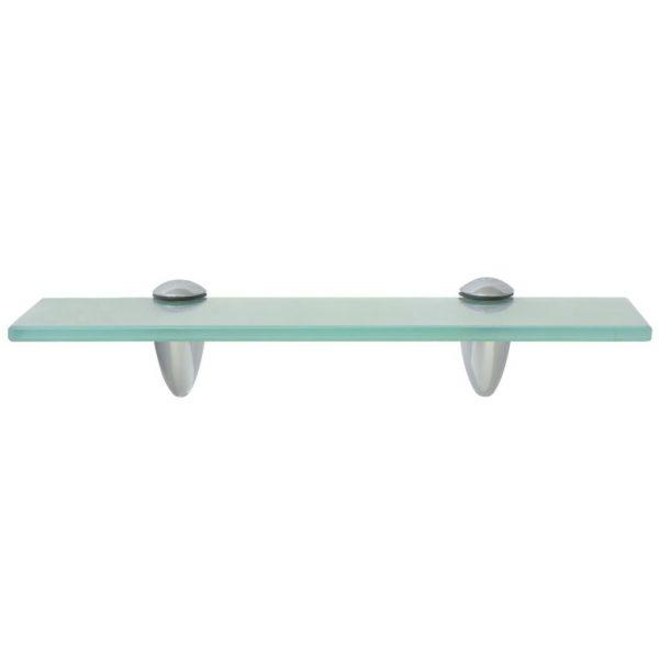 Clear Glass Floating Wall Shelf – 30cm x10cm