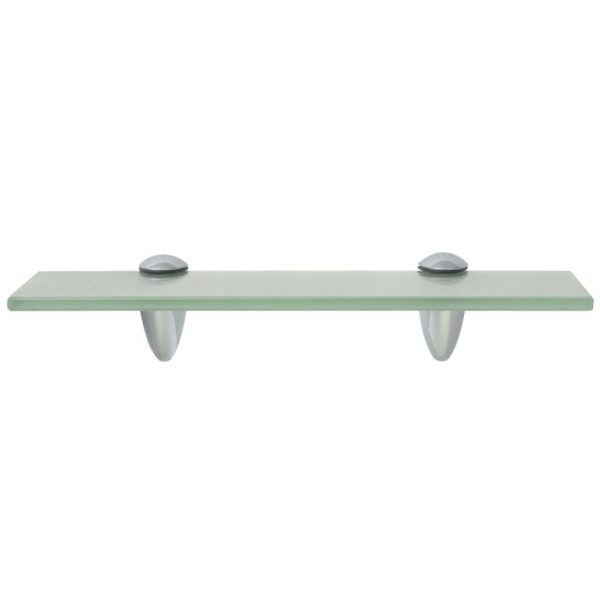 Frosted Glass Floating Wall Shelf – 30cm x 10cm