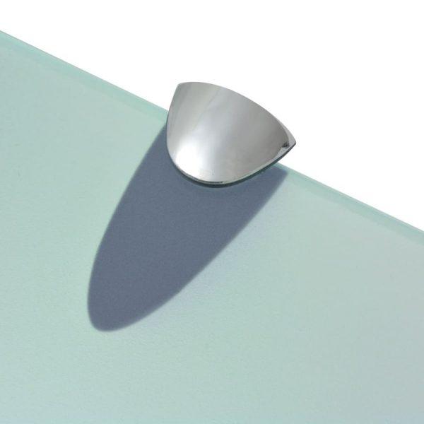 Clear Glass Floating Wall Shelf – 30cm x 20cm