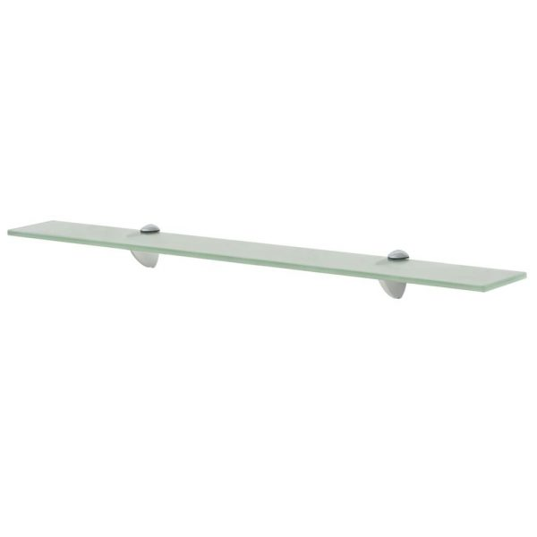 Frosted Glass Floating Wall Shelf - 70cm x 20cm