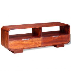 TV Cabinet Solid Sheesham Wood
