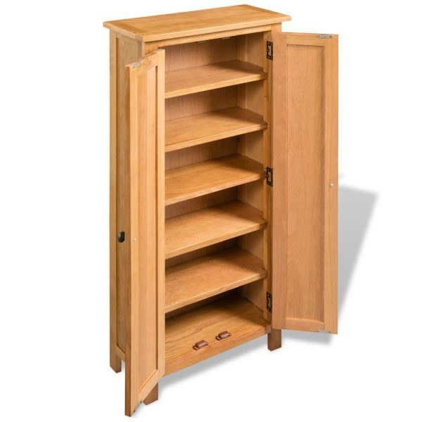 Storage Cabinet – Solid Oak