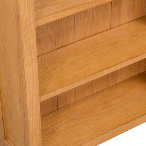 3-Tier Bookcase – Oak